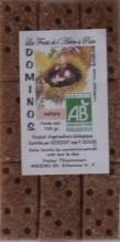 Dominos, pâte de fruits châtaignes-dattes