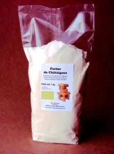 farine châtaignes 1kg